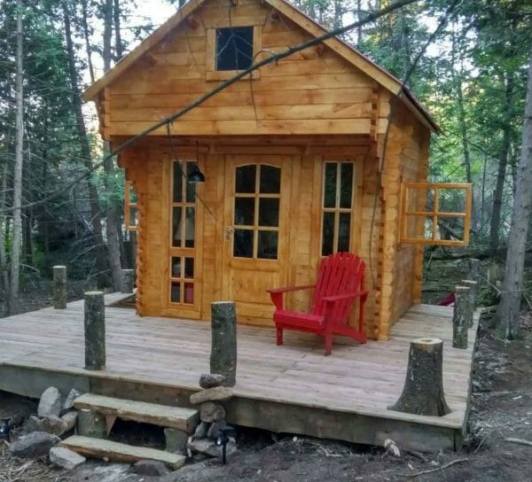 2018 Bunkie Life Model Front View