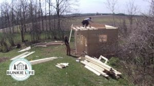 Build a Cabin Bunkie in 5 Hours Video