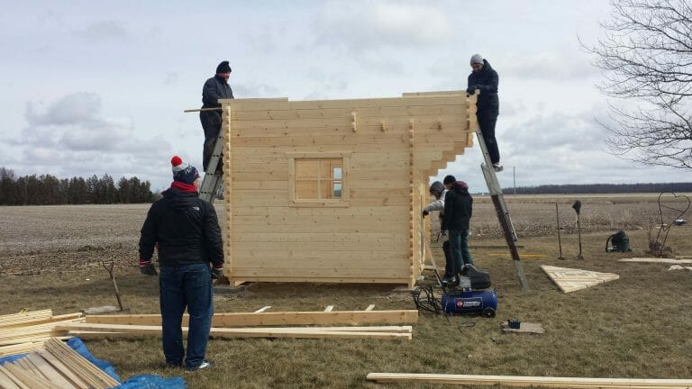 Bunkie Life Building a Bunkie in Petrolia, ON