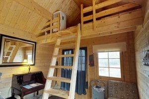 Upstairs loft of 2017 Bunkie at Bunkie Life