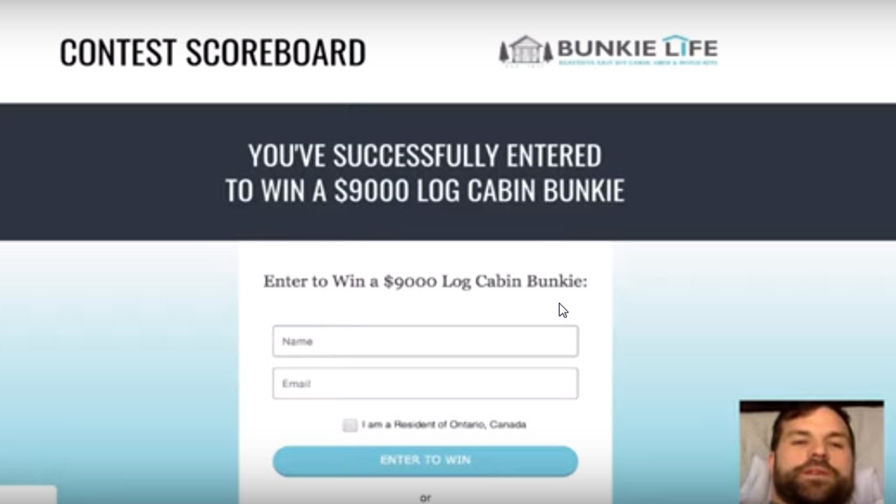 Youtube-Bunkie-Life-Contest-500-More-Points-Video